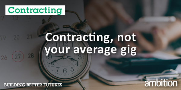 [Blog] Contracting Not Your Avg Gig